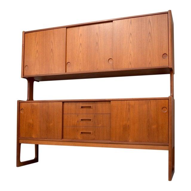 1960s Danish Teak Room Divider Sideboard - Image 1 of 11