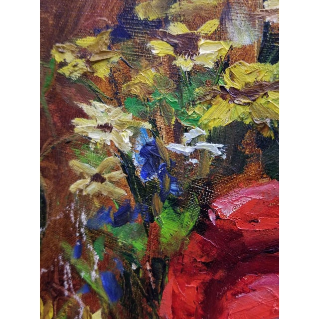 F.K. Thauer Floral Still Life Oil Painting - Image 6 of 10