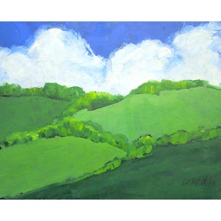 Agoura Hills California Oak Trees Clouds Landscape Lynne French For Sale