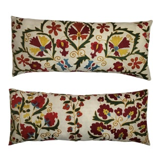 Vintage Suzani Pillows - A Pair