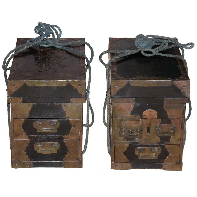 19th Century Japanese Medicine Boxes - a Pair For Sale - Image 12 of 12