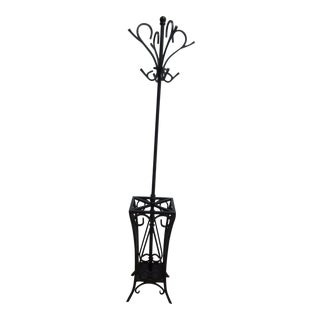 Wrought Iron Clothes Tree For Sale