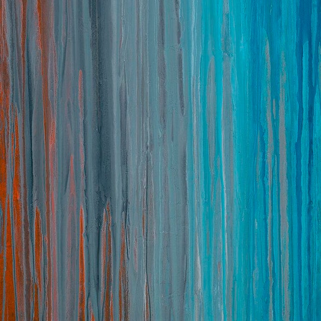 Teodora Guererra Teodora Guererra, 'Drenched in Teal' Painting, 2016 For Sale - Image 4 of 5