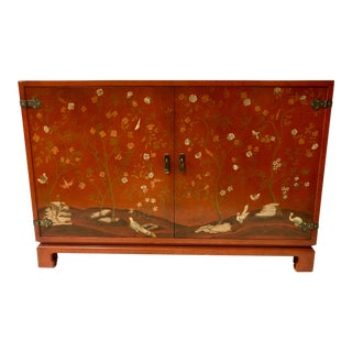 John Widdicomb Chinoiserie Credenza For Sale