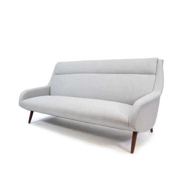 1958 Vintage Bengt Ruda for Esa Mobler Danish 3 Seat Sofa For Sale - Image 9 of 9