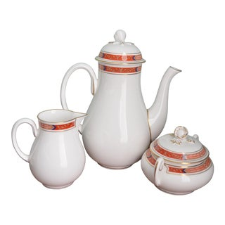 English Coffee Service - Pot Milk Lidded Sugar For Sale