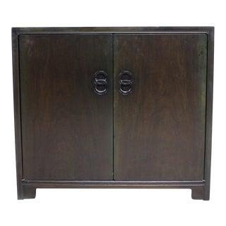 Far East Regency Michael Taylor Baker Two Door Cabinet Server Dresser 1950s For Sale
