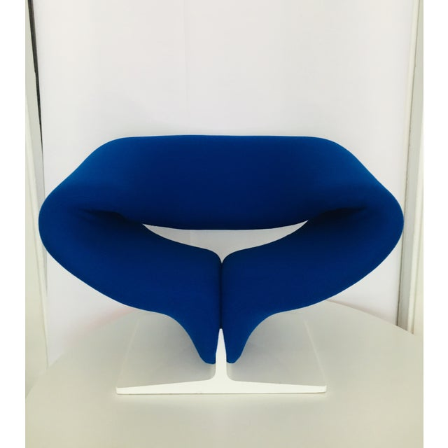 Metal 1960s Vintage Pierre Paulin for Artifort Space Age Ribbon Lounge Chair For Sale - Image 7 of 9