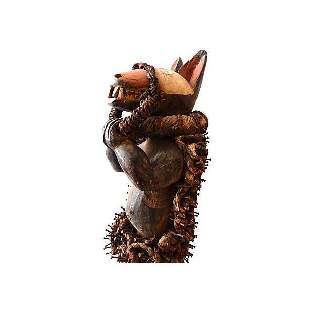 Nkisi Hyena Sculpture - Image 7 of 8