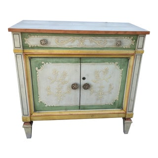 1970s French Provincial Maddox of Jamestown Cabinet With Flip Up Secretary For Sale