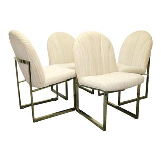 Milo Baughman Thayer Coggin Mid-Century Dining Chairs - Set of 4 For Sale