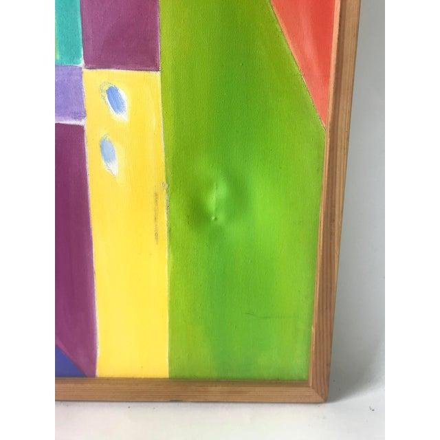 Original JoAnn Crisp Ellert Oil Painting on Canvas, 1990s For Sale - Image 10 of 11