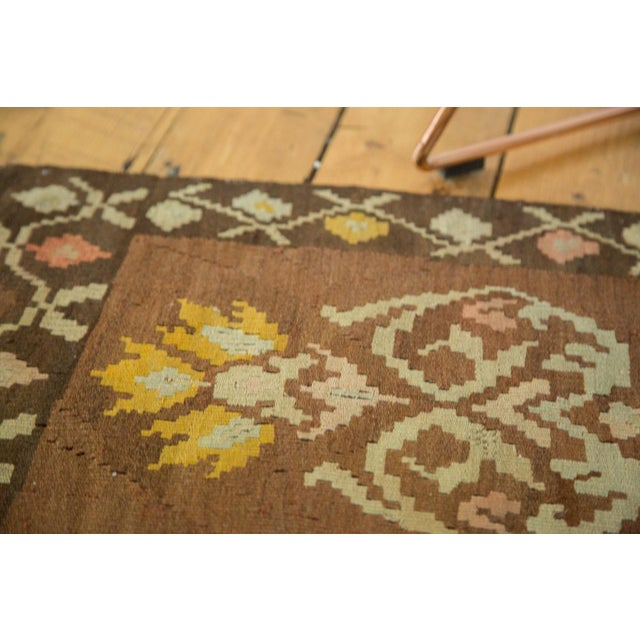 "Vintage Turkish Kilim Runner - 1'7"" x 3'1"" For Sale - Image 4 of 6"