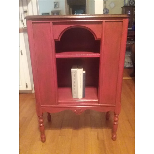 1940s Red Radio Cabinet - Image 3 of 6