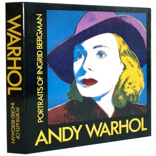 Andy Warhol: Portraits of Ingrid Bergman 1983 English/Swedish Pop Art Monograph For Sale