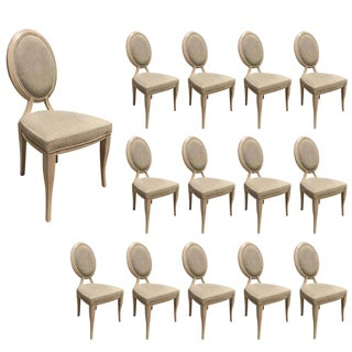 "Modern Dining Chairs by Reagan Hayes ""Cynthia""- Set of 14 For Sale"