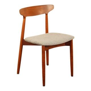 Harry Østergaard for Randers Danish Teak Side Chair For Sale