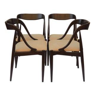 Danish Johannes Andersen Dining Chairs - Set of 4