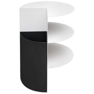 Powdercoated Total Garbage Side Table or End Table by Birnam Wood Studio For Sale