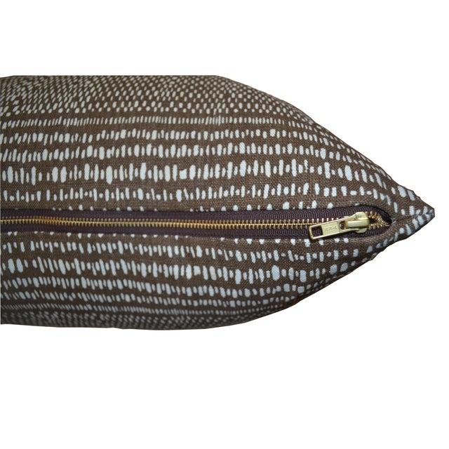 2020s Custom Carolina Irving Organic Stripe Pillow For Sale - Image 5 of 5