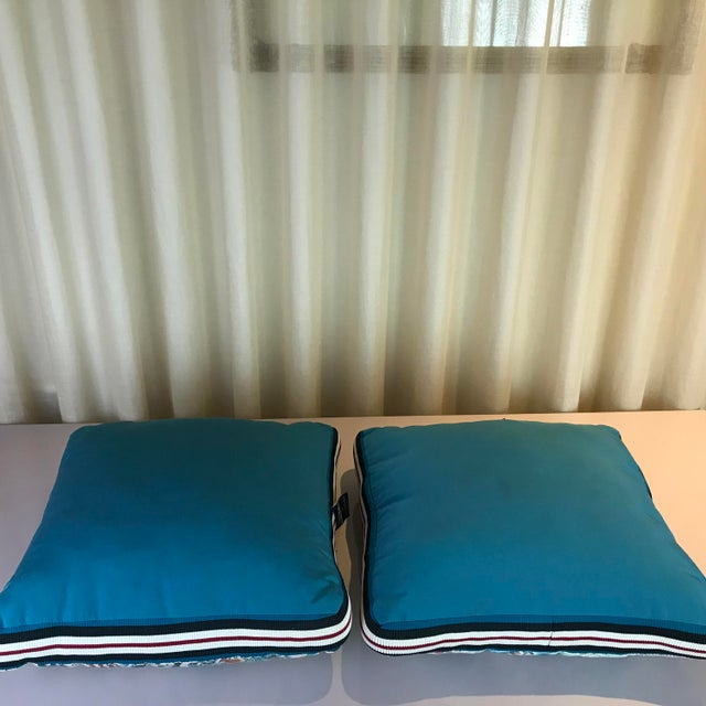 Cotton Jean Paul Gaultier Decorative Pillows - A Pair For Sale - Image 7 of 9