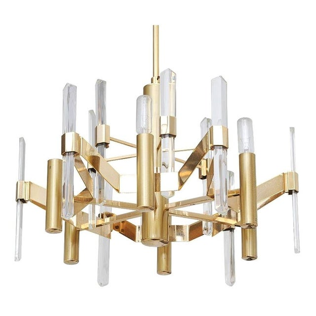 Gaetano Sciolari Chandelier For Sale