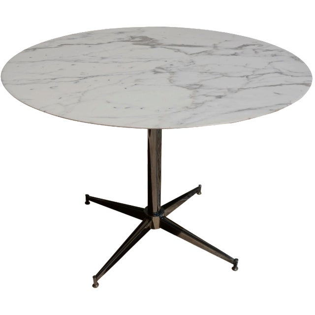 Florence Knoll Marble Table - Image 1 of 8