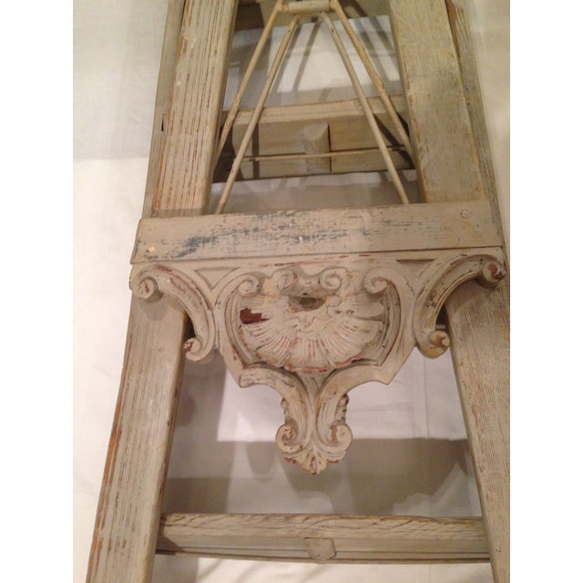 19th Century 10-Step French Artist Ladder - Image 3 of 6