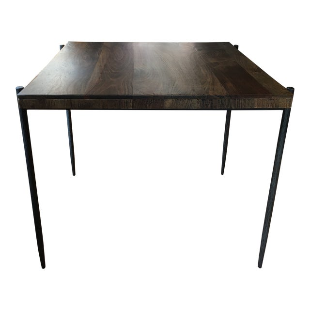 Iron Base Pub Table For Sale