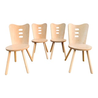 Bentwood Cutout Chairs For Sale