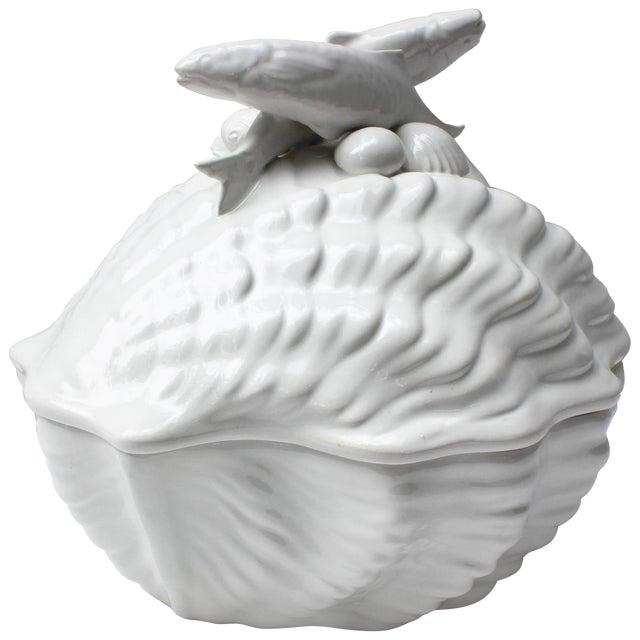 Italian Shell Tureen For Sale