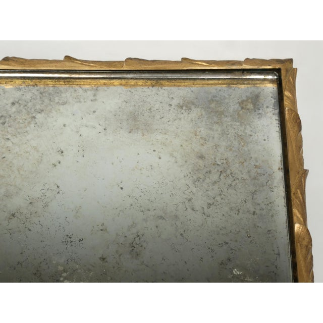 Baguès Solid Bronze Gilt Coffee Table For Sale - Image 12 of 13