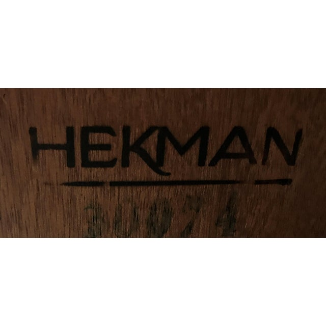 Hekman Display Cabinet Bookcase Hutch For Sale - Image 12 of 13