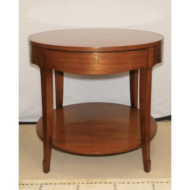 Barbara Barry Skirted Accent or End Table For Sale - Image 9 of 9