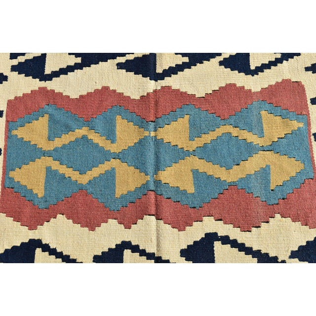 Turkish Anatolian Wool Rug - 2′3″ × 3′7″ For Sale - Image 9 of 9