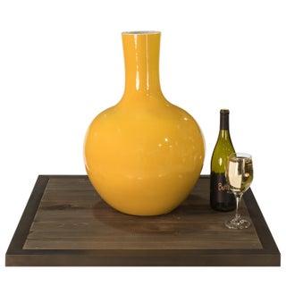 Yellow Globular Vase Preview