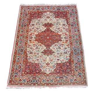 Tabriz Rug with Classic Persianate Medallion Design For Sale