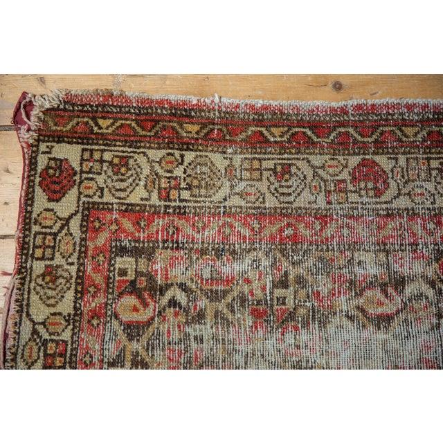 "Antique Hamadan Rug Mat - 2'2"" X 3'2"" For Sale - Image 10 of 11"