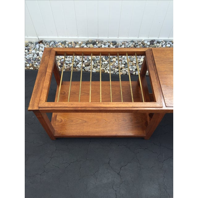Mid-Century Teak Coffee Table - Image 3 of 9
