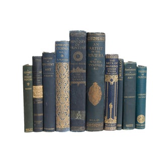 Antique Arts in Spruce Book Set For Sale