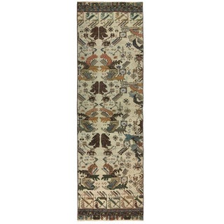 Distressed Anatolian Carpet Runner | 2'8 X 9' For Sale