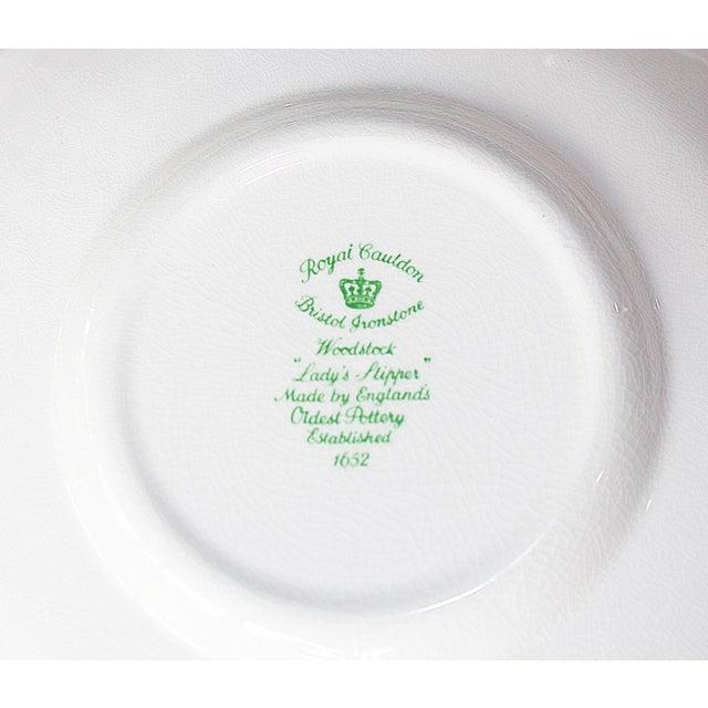 Ceramic Royal Couldon Dessert Plates, Set of 8 For Sale - Image 7 of 8