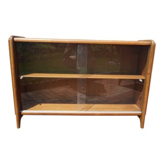 John Van Koert for Drexel Projection Mid-Century Modern China Hutch For Sale