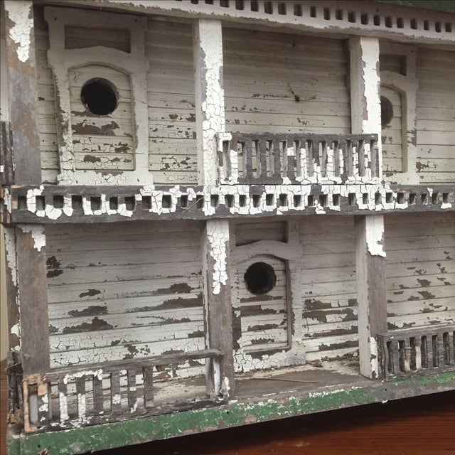 Folk Art Bird House - Image 6 of 6