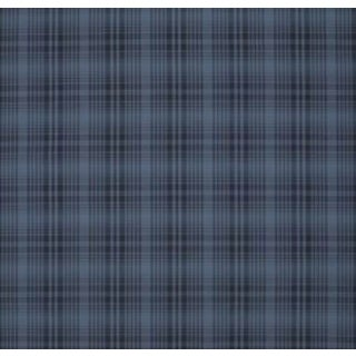 Elsie Silk Plaid CL Dress Blue by Ralph Lauren Pattern, Lcf66603f For Sale