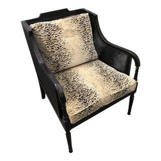 Swaim Furniture Cain Arm Chair For Sale