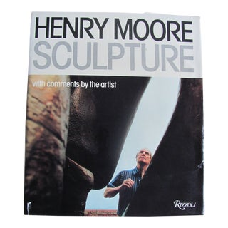 "1980s ""Henry Moore Sculptor With Comments by the Artist"" Book by Rizzoli Publisher For Sale"