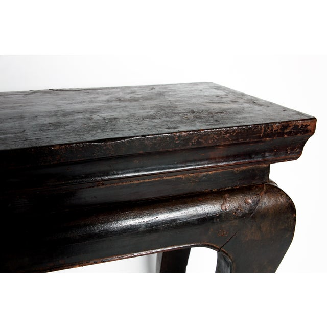 Wood Qing Dyansty Wine Table For Sale - Image 7 of 13