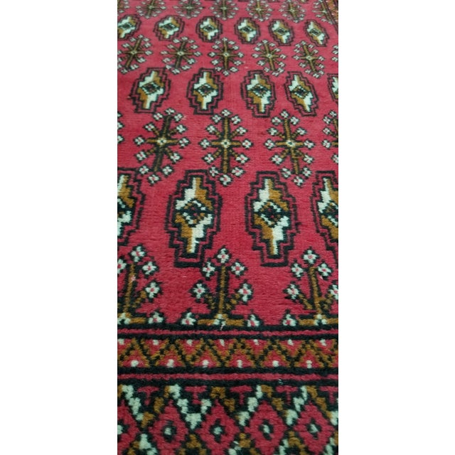 1950s 1950s Vintage Persian Rug - 1′8″ × 3′2″ For Sale - Image 5 of 10