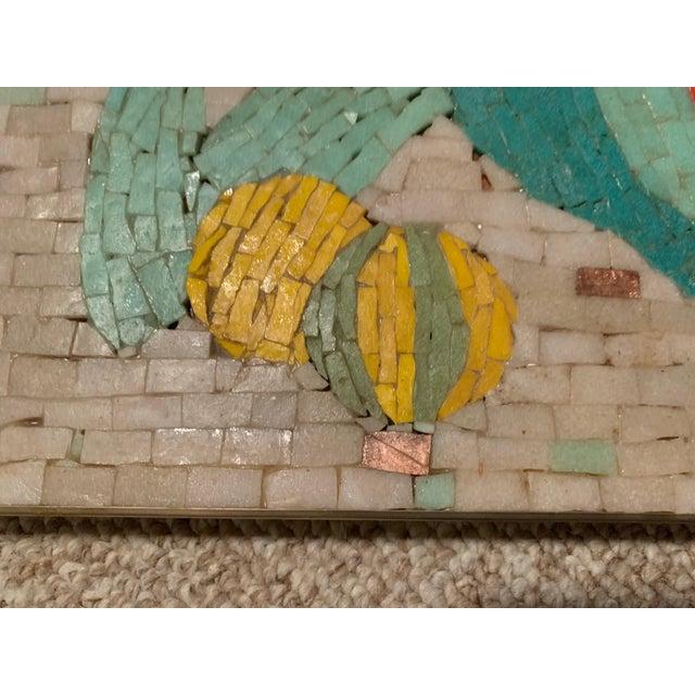Vintage Harlequin Jester Tile Mosaic Wall Hanging For Sale - Image 11 of 12